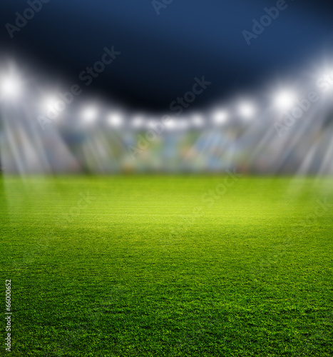 Fotografie, Obraz  Fußballarena
