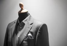 Elegant Men Suit On Mannequin,...