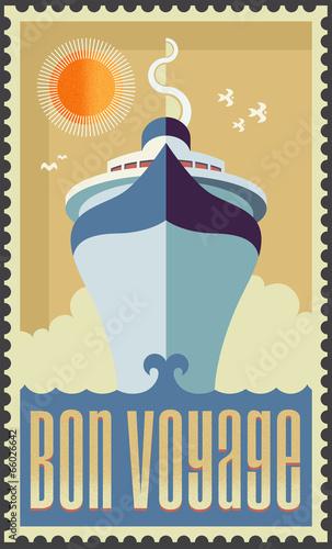 vintage-retro-statek-wycieczkowy-wektor-wzor-plakat-podroz-wakacje