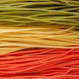 Italian cuisine - Italian tricolor pasta