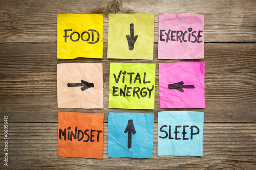 Fotografia  vital energy concept