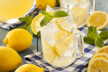 Homemade Refreshing Yellow Lem...