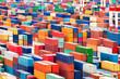 canvas print picture - Containerhafen