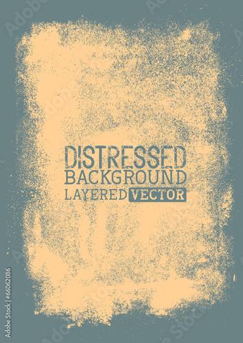 Fotografie, Obraz  Distressed Vector Background