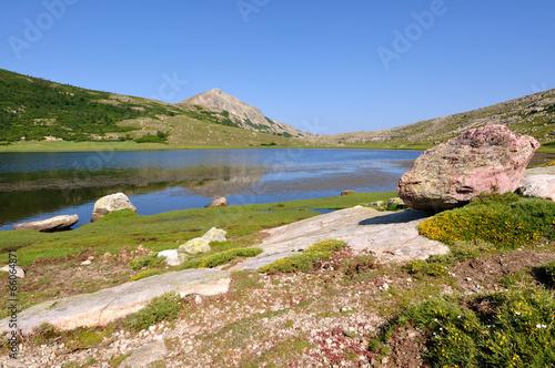 Fotografie, Obraz  Lac Nino (Corse)