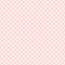 Seamless Pink Polka Dot Backgr...