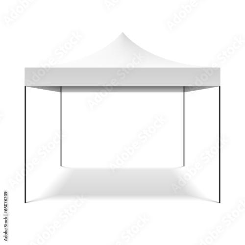 Fotografie, Obraz White folding tent