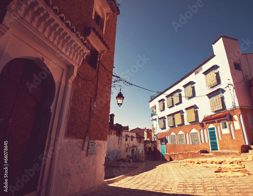 Foto op Plexiglas Marokko City in Morocco