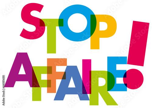 Valokuva  MOT Stop Affaire !