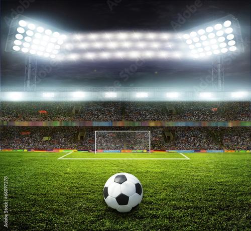 Fototapety, obrazy: stadium with fans