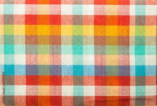 Cuadros en Lienzo Colorful loincloth fabric background