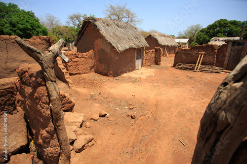 House Made From Clay African Style Buy This Stock Photo And
