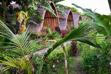 bungalows Gili Trawangan, Lombok, Indonesia, Asia
