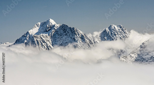 Canvas Prints Alps Alps