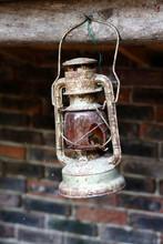 A Photo Of An Antique Lantern