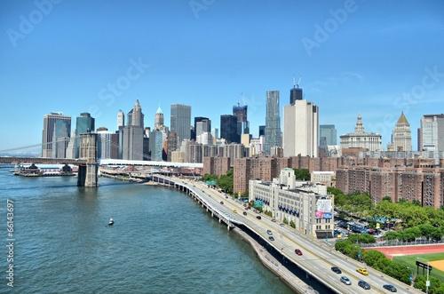 Fototapeta Nowy Jork Manhattan USA obraz