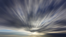 Clouds With Long Exposure Effect