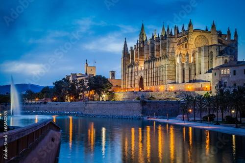 Kathedrale von Palma Fototapet