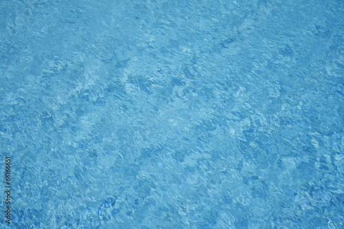 Printed kitchen splashbacks Glaciers Water background - rippled blue sea water pool surface