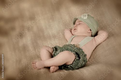 Fotografia Entspanntes Baby