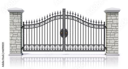 Cuadros en Lienzo Iron gate
