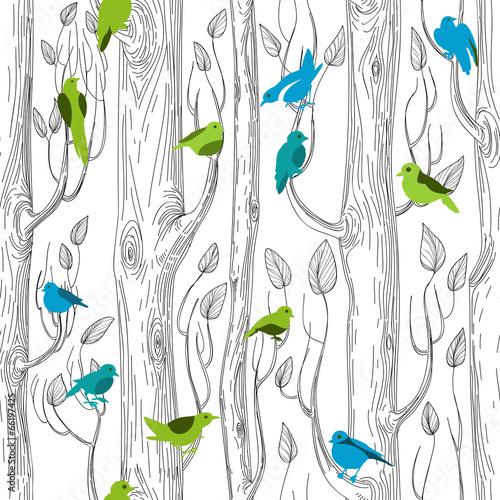 wzor-drzewa-i-ptaki
