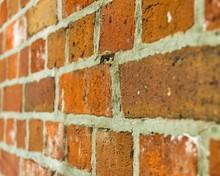 Brick Wall Background Diagonal