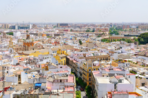 Staande foto Havana Cityscape in Sevilla, Spain