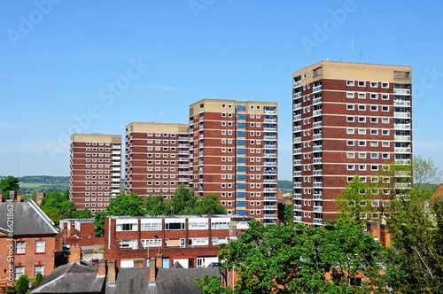 Valokuva  Residential apartment blocks, Tamworth © Arena Photo UK