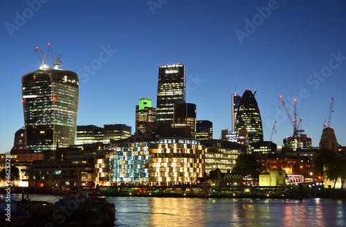 Keuken foto achterwand Seoel Cityscape of London at night