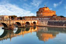 Rome - Castel Saint Angelo, It...