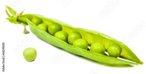 Poster Légumes frais pea pods and grains