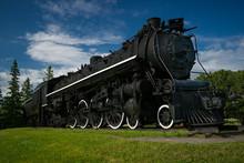 Big, Black, 484 Style, Old Steam Train