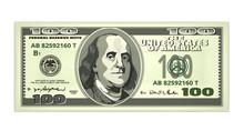 Vector Realistic Dollar