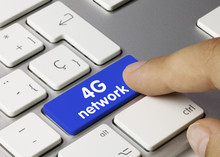 4G Network. Keyboard