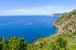 Landscape of the Italian Riviera in summer