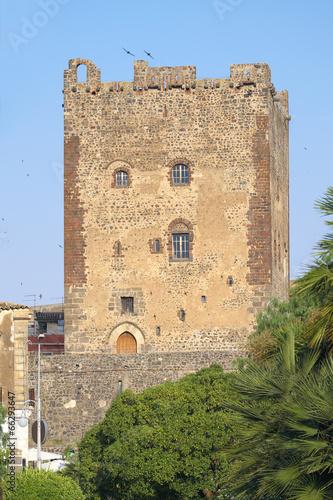 Fényképezés  Norman Castle In Adrano, Sicily