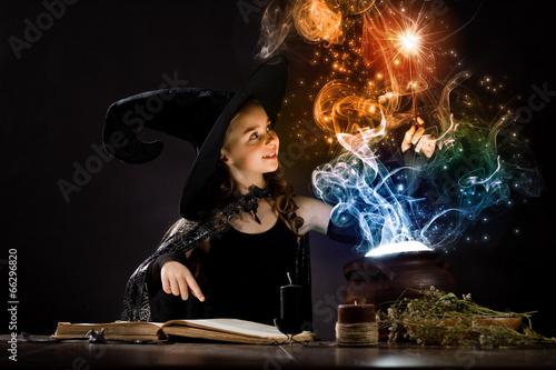 Fotografie, Obraz  Halloween witch