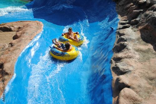 Poster Amusementspark Aquapark