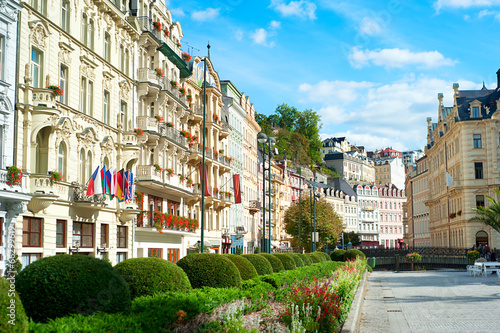 Fototapeta  Karlovy Vary architecture