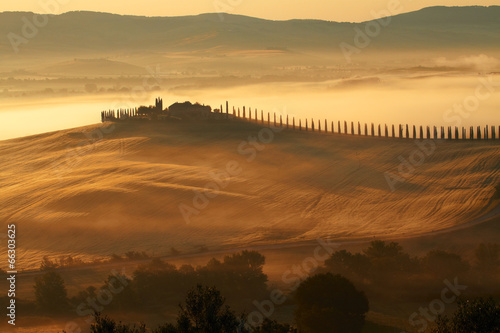 Deurstickers Toscane Countryside, San Quirico d`Orcia , Tuscany, Italy