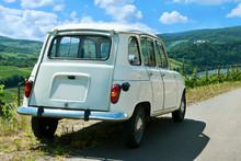 Renault R4 Weiß