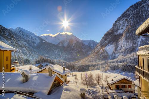 Fotografie, Obraz  montagna e natura
