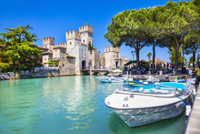 Medieval Castle  Sirmione On L...