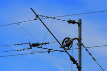 Oberleitung Mast