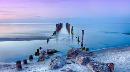 Obraz na Szkle Molo Old pier