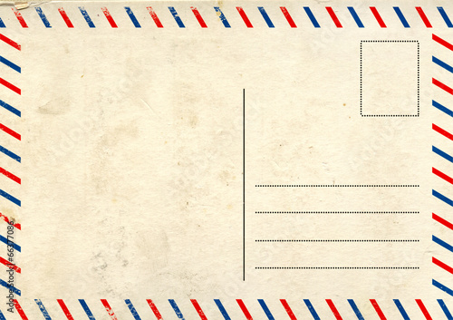 Fotografia  Old post card