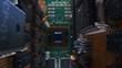 PCB - printed circuit board macro shooting