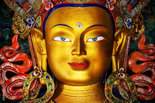 Tuinposter Boeddha Maitreya buddha statue