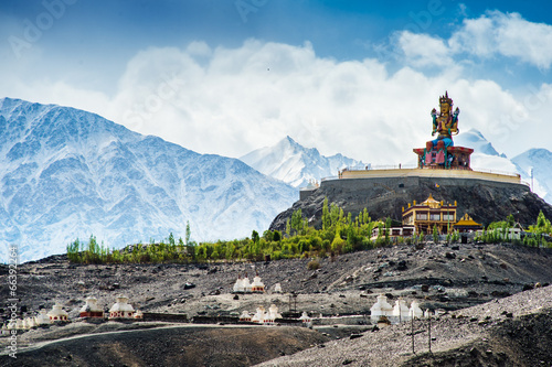 Maitreya at Disket Monastery, Ladakh, India
